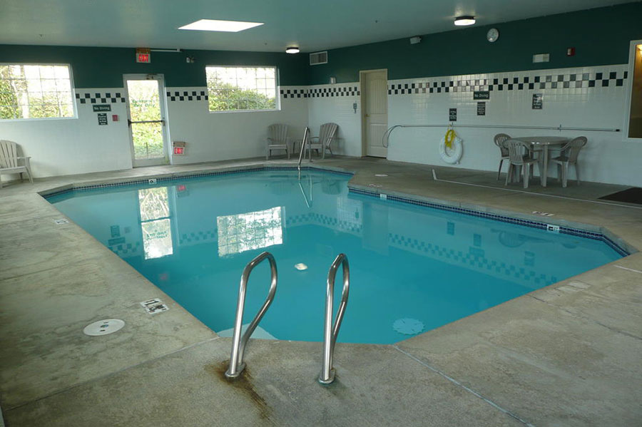 indoor pool at The Ashley Inn & Suites
